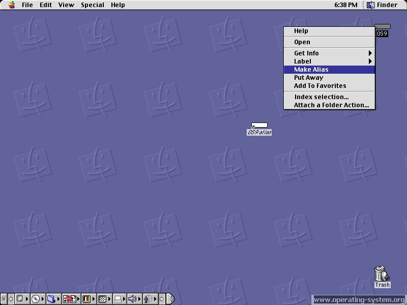 Screenshot apple macos 9 09