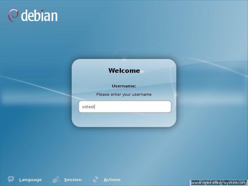 Screenshot linux debian debian503 18