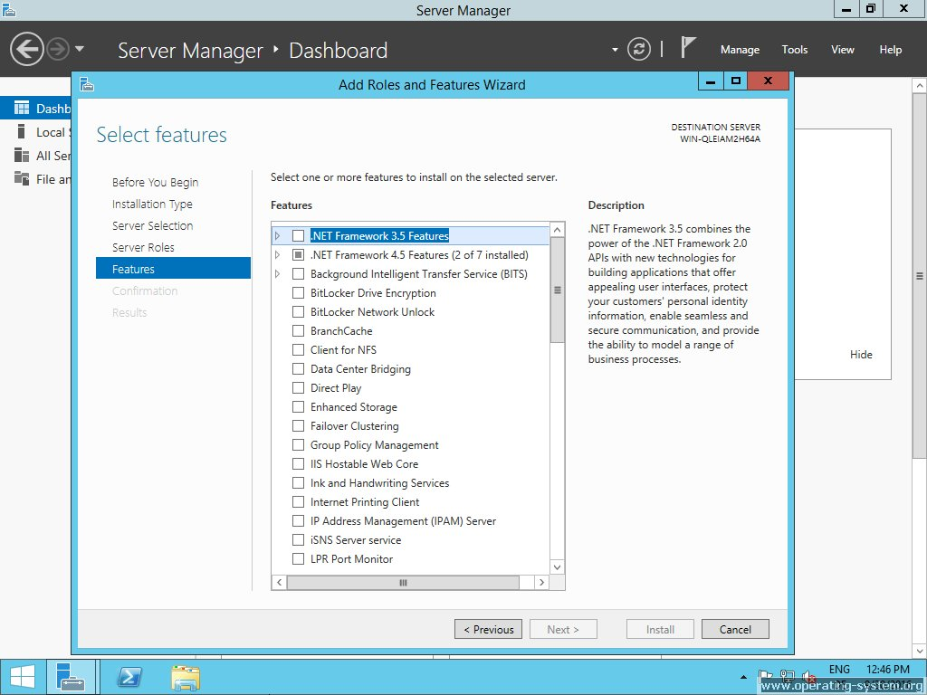 Bildschirmfoto: microsoft server windows server 2012R2 22