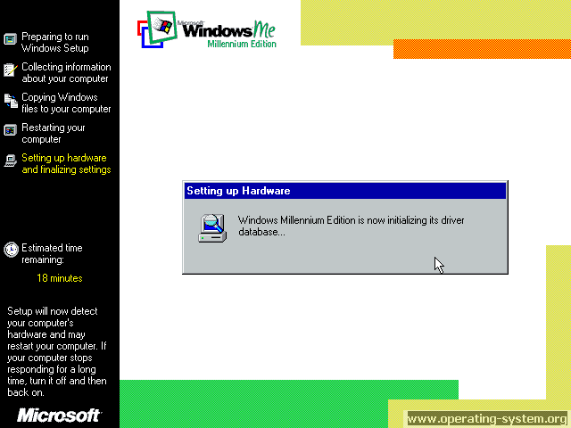 Bildschirmfoto: microsoft winme windowsme final 12