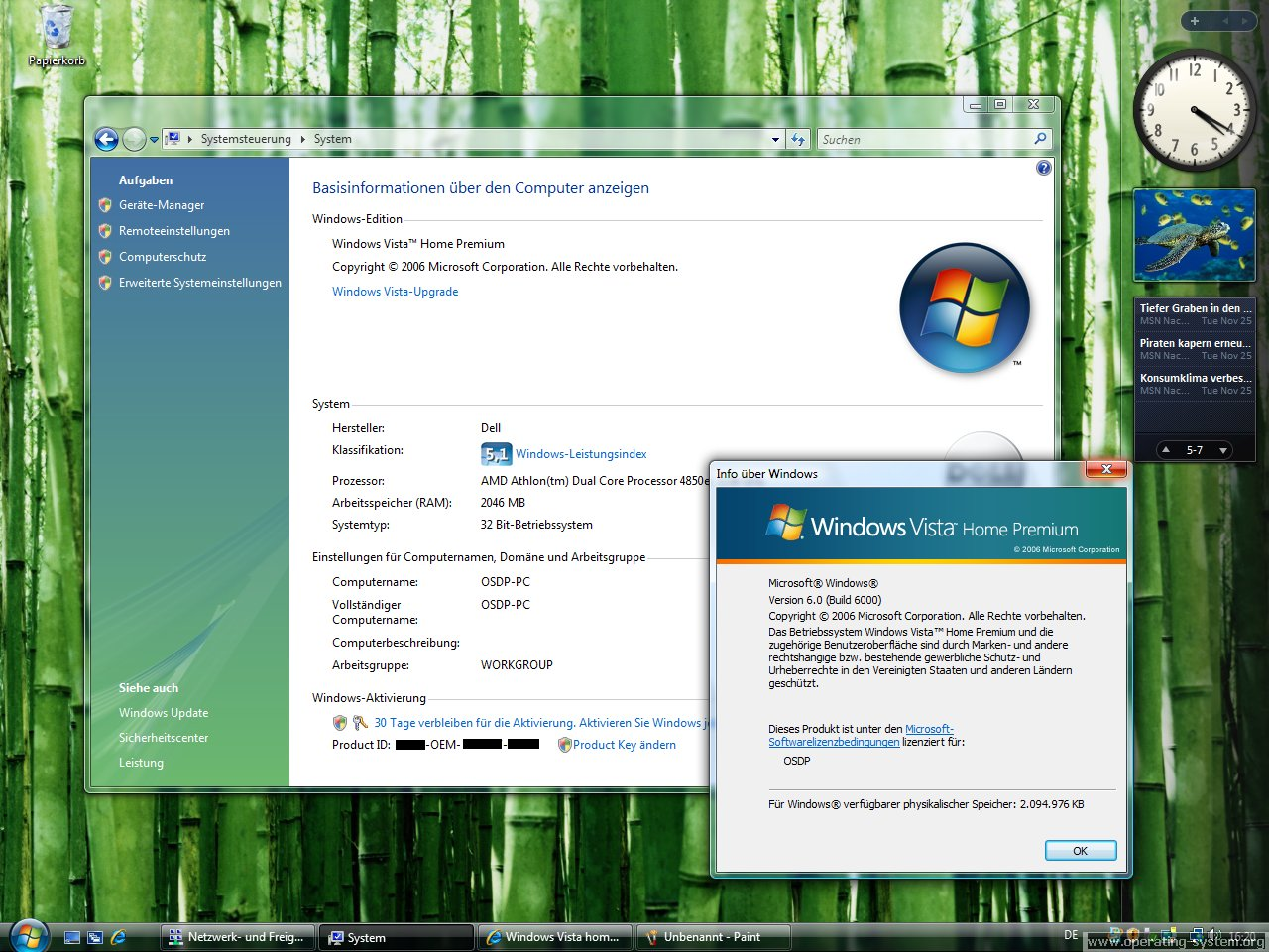 Windows vista operating system for Windows windows